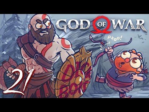 God of War HARD MODE (God of War 4) Part 21 - w/ The Completionist