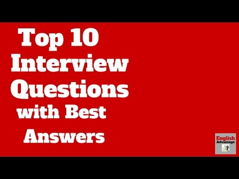 CRACK ANY INTERVIEW !! TOP 10 INTERVIEW QUESTIONS WITH THE BEST SAMPLE ANSWERS | HINDI