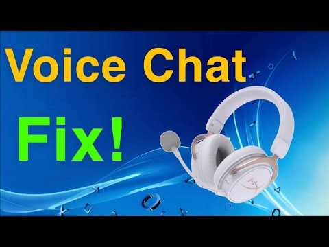 PS4 How To Fix Voice Chat And Game Chat NEW!