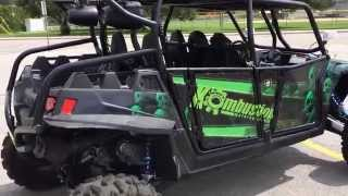 RzR 900 Custom Stereo with Sub and 4 speakers