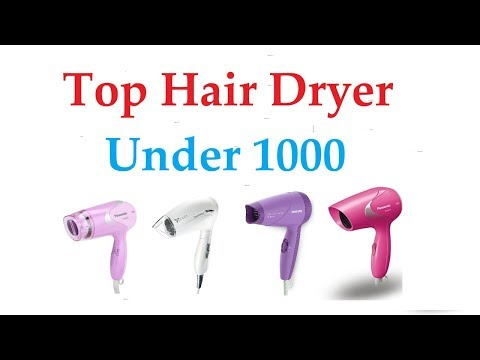 Top Hair Dryer Under 1000 || Best Quality || Best Brands || Best Rated😋