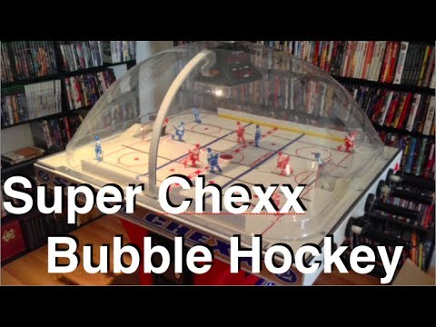 Super Chexx Bubble Hockey Review & Gameplay - 2014 HD - YouTube