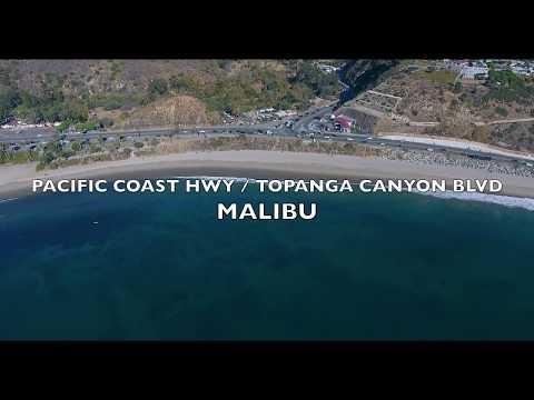 Aerial 4K - Malibu scenics, traffic - Drones by Merlin Dean