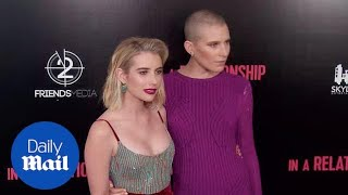 Emma Roberts & Dree Hemingway at the In A Relationship premiere
