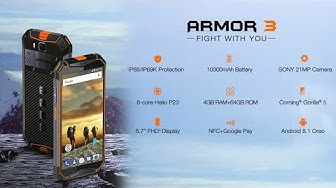 Ulefone ARMOR 3 Unboxing Video