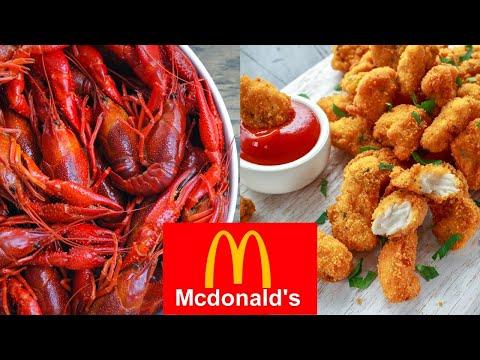 Making McDonald's New Crawfish Nuggets!