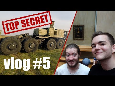 Driving a 22 TON Cold War Vehicle (Government Secret) | Vlog #5