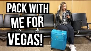 Pack with Me for Vegas!!