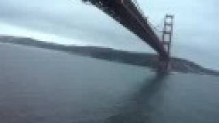 Flying Under the Golden Gate Bridge
