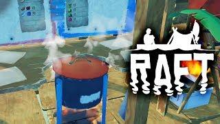 Raft | ВАРЮ ПОХЛЁБКУ из ОБЪЕДКОВ! Игра про выживание на Плоту