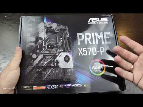 Asus Prime X570-P Unboxing & Overview - YouTube