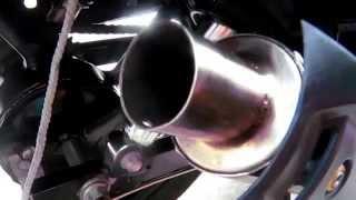 Yamaha SZR/ SZ16 loud pipe