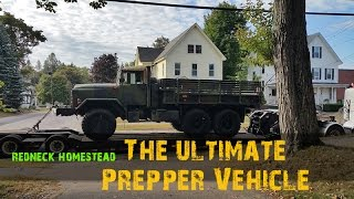 Take a Ride in The Ultimate Prepper/Bugout Vehicle: Review of the Military 5-Ton 6x6 - Part 2