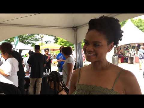 Fode interviewing Kimberly Elise on her brand new Natural Hair product line!