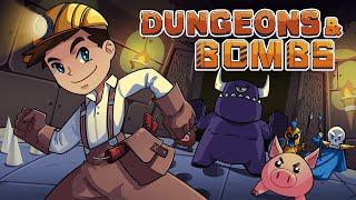 Dungeons & Bombs - ¡PIENSA, PIENSA! - Gameplay Español