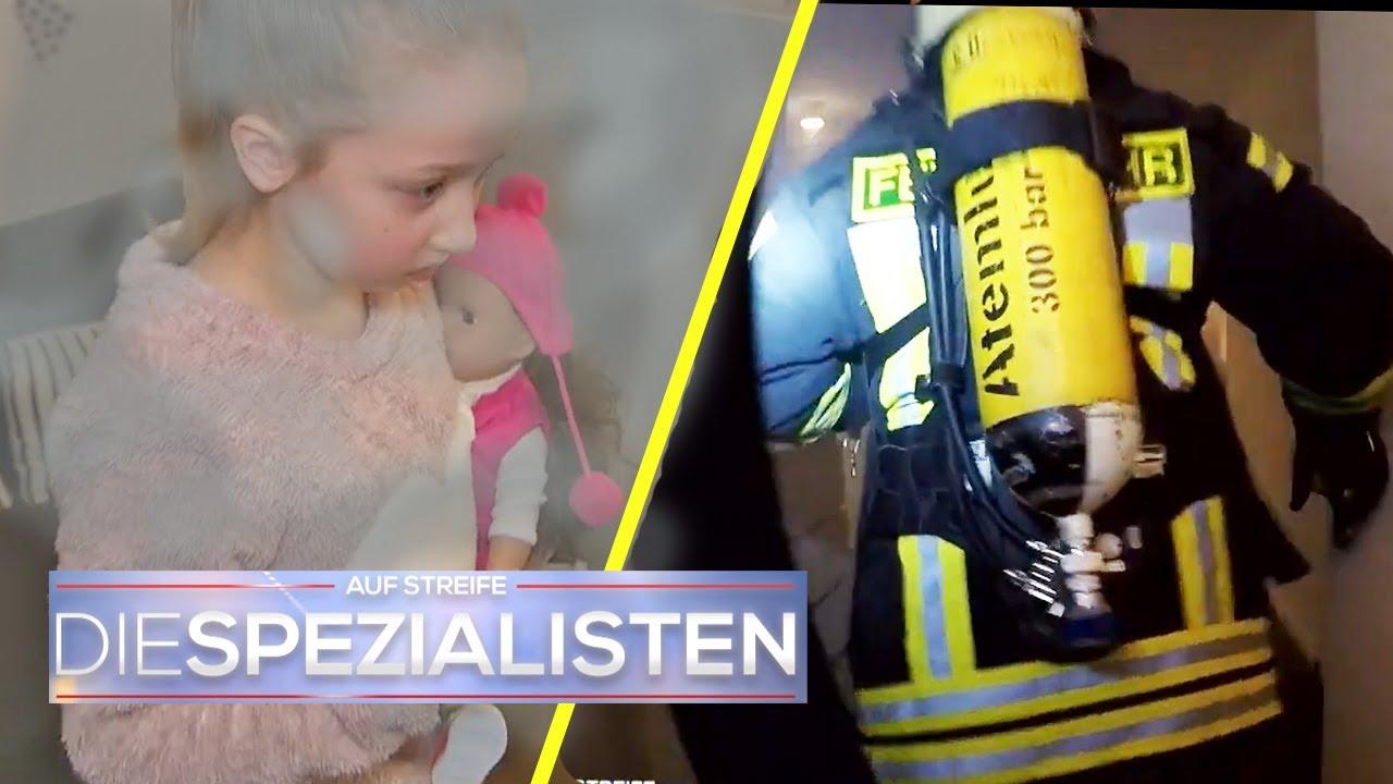 Mia (6) ruft Feuerwehr in brennender Wohnung und verschwindet danach! | Die Spezialisten | SAT.1