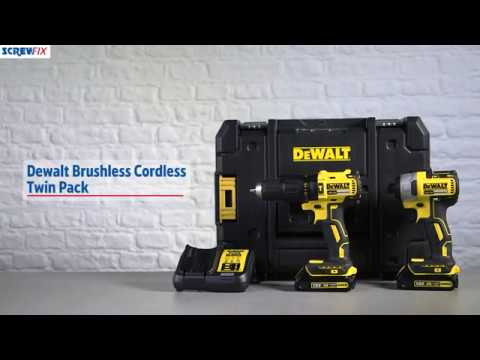 DEWALT DCK2060S2T-SFGB 18V Li-ion Brushless Cordless Twin Pack | Screwfix