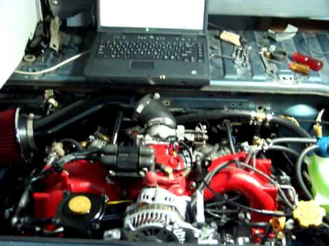 VW Vanagon Subaru Engine Conversion / Swap its a VanaRu ...
