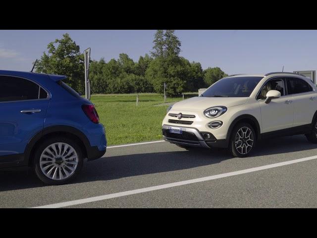 Der neue Fiat 500X – mit autonomem Notbremsassistenten