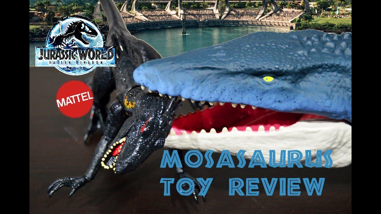 Jurassic World ~ REAL FEEL MOSASAURUS ACTION FIGURE ~ Fallen Kingdom