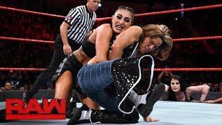Mickie James vs. Sonya Deville: Raw, Feb. 5, 2018
