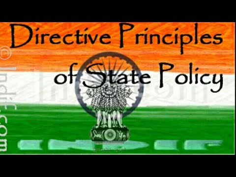 Directive principles of state policy