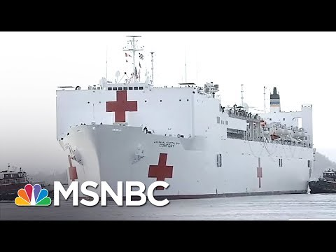Doctor Quits Puerto Rico Medical Relief Team Over 'Spa Day' | Rachel Maddow | MSNBC