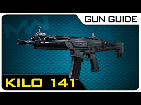 Kilo 141 Stats & Best Class Setups! | Modern Warfare Gun Guide #3