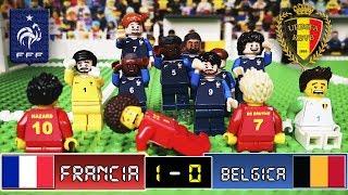 Francia 1 - 0 Bélgica / LEGO Fútbol - Resumen y Goles / Semifinal Mundial Rusia 2018 / Stop motion