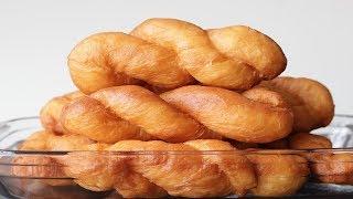 Twisted Doughnuts Recipe--Cooking A Dream