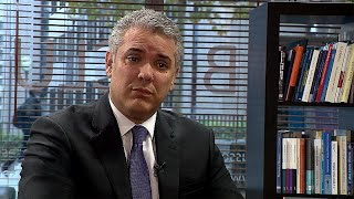 Entrevista exclusiva a Iván Duque, presidente de Colombia