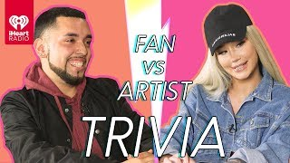 Iggy Azalea Goes Head to Head With Her Biggest Fan | Fan Vs Artist Trivia