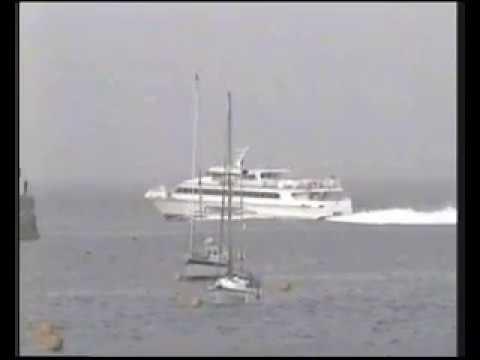 Alderney Harbour 1997
