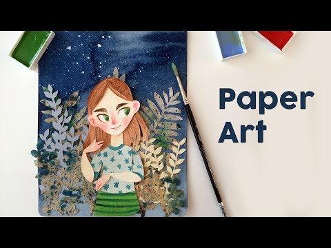 Paper Cut Art   Isableh