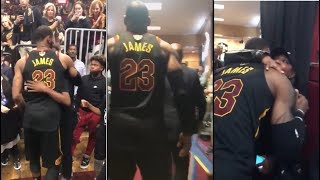 LEBRON JAMES LEAVES THE COURT FOR POSSIBLY THE LAST TIME AS A CAVALIER | 2018 NBA Finals Moments