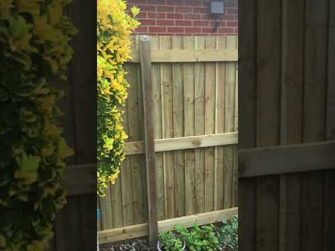 Fence and Gate build project in Buckshaw Village