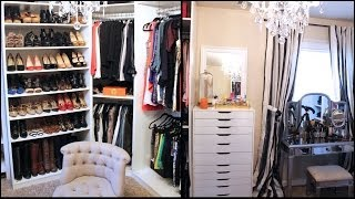 New Updated Closet & Makeup/filming Area Tour