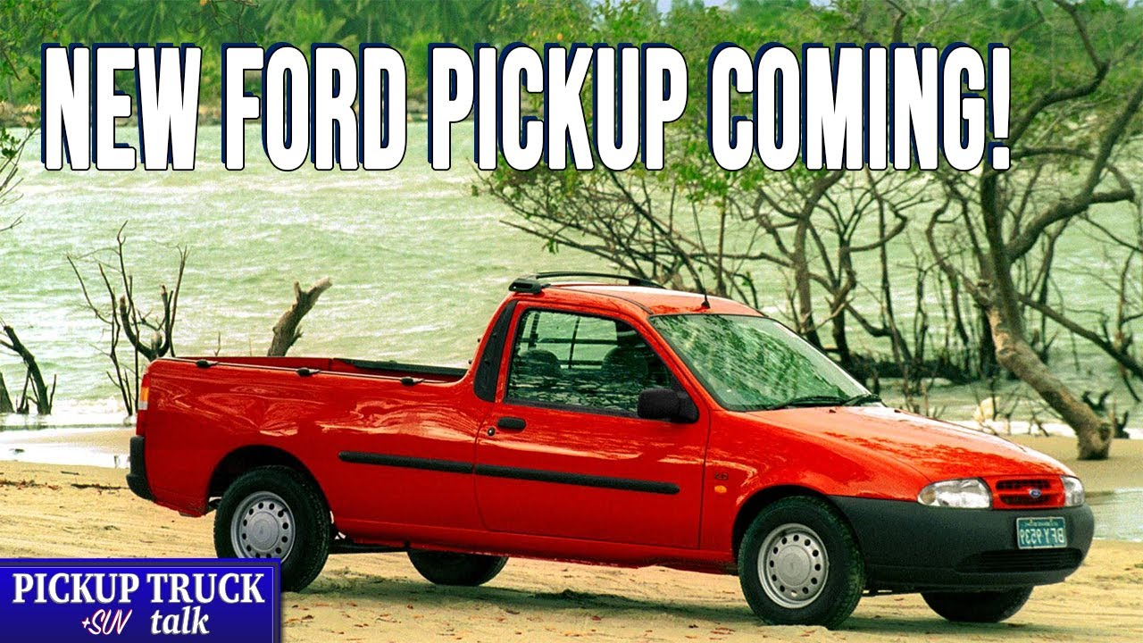 Are You Ready for the Comeback? 2021 Ford Courier ...