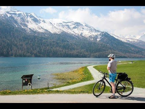 瑞士旅遊: 2 ~ Switzerland travel ~ 搭景觀火車、聖莫里茲美麗大草原、盧加諾湖邊風光、貝林佐納大城堡、搭冰河快車到策馬特小鎮
