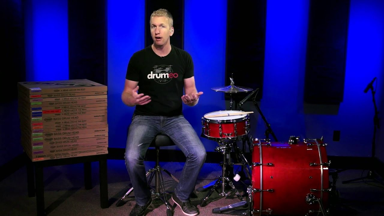 evans emad onyx bass drum head review youtube. Black Bedroom Furniture Sets. Home Design Ideas
