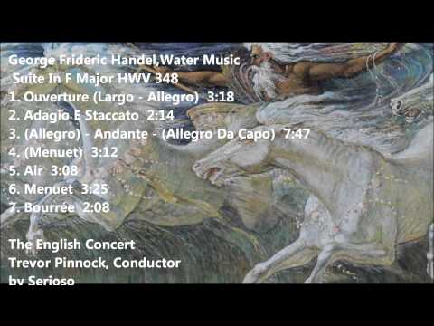 handel,water music, pinnock