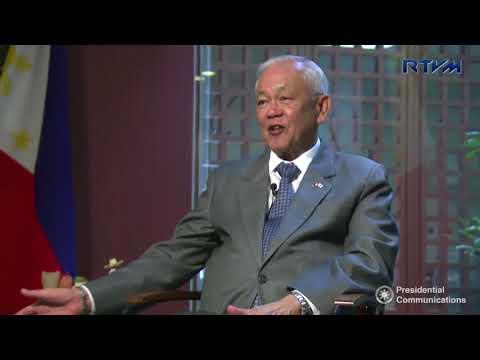 Interview with Ambassador Jose C. Laurel V 10/25/2017