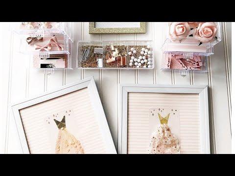 DOLLAR STORE DIY | Room Decor | Ballet Inspired | Pink Room | Dollar Tree | Frank Garcia Studio
