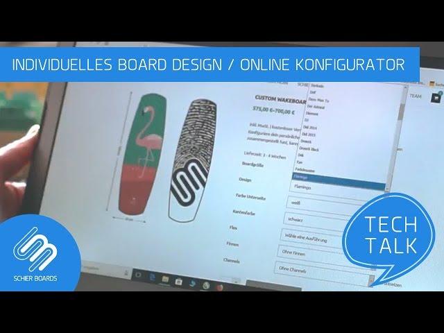 Individuelles Board Design/ Online Konfigurator #SchierTech