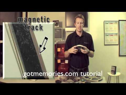 Super 8 & 16mm Sound Magnetic & Optical Demonstration