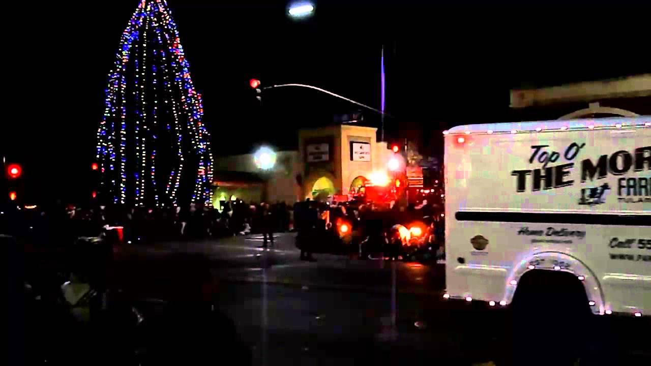 2013 12 05 Tulare Christmas Parade - YouTube