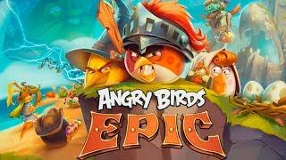 видео Скачать Angry Birds Epic бесплатно на Андроид