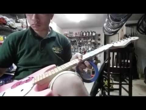 New Guitar Day: Fishbone Hello Kitty Guitar