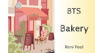 [BTS Fanart] Bakery from the BT21 Book - speed Drawing - Roni Pool