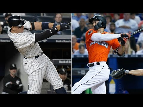 Giancarlo Stanton and Aaron Judge | All 115 Combined Home Runs 2017!